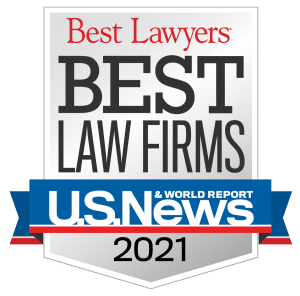 Merkel & Cocke Named to Best Law Firms for 2021